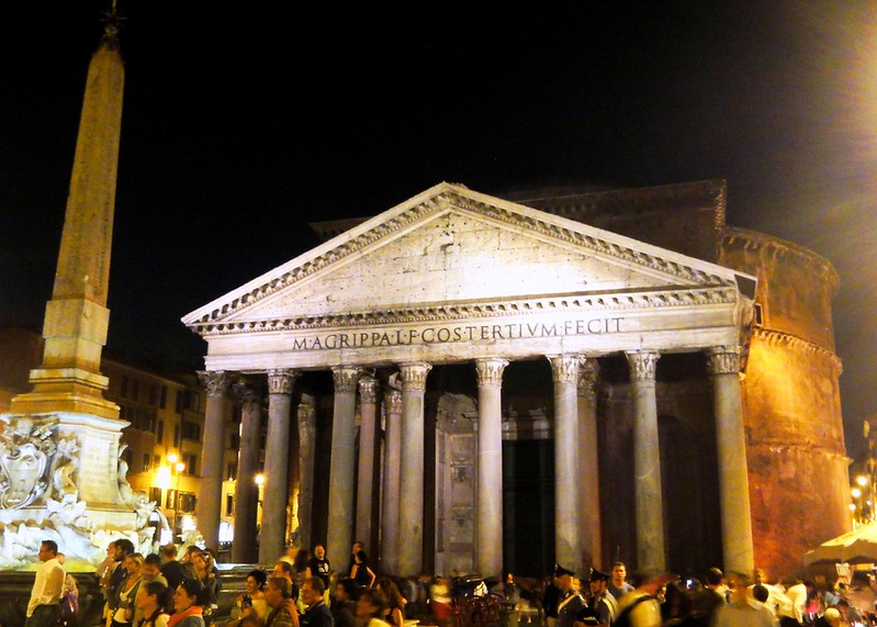 Pantheon,  Rome — Temple of all the gods