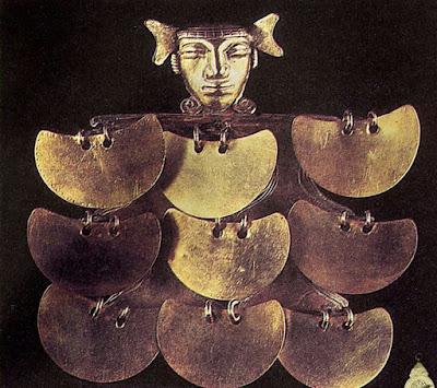 Pectoral de oro Quimbaya