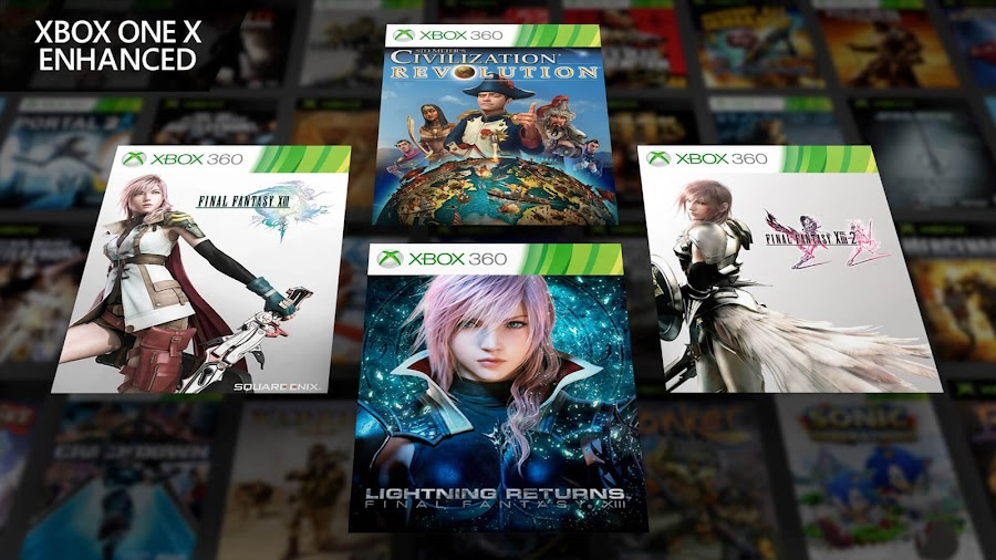 ffxiii civilization revolution xbox one x enhanced