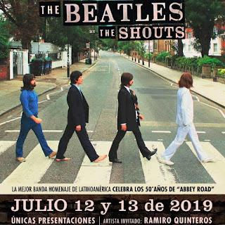 THE SHOUTS Gran Tributo a The Beatles de regreso en Bogotá
