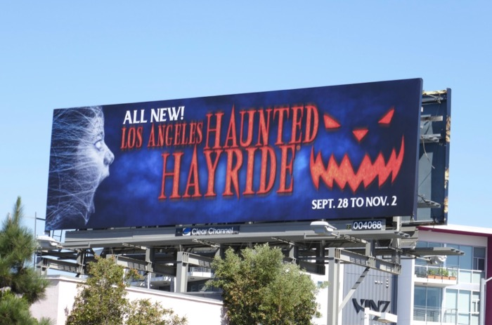 LA Haunted Hayride 2019 billboard