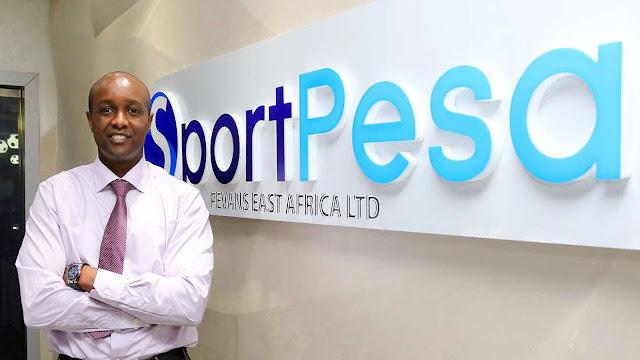 Sportpesa boss and Milestone CEO Ronald Karauri