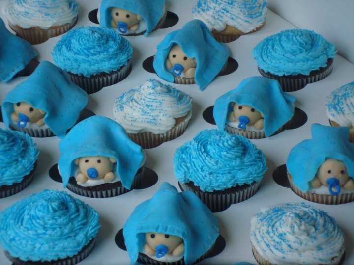 Anna Sweets By Jess It S A Boy Cupcakes