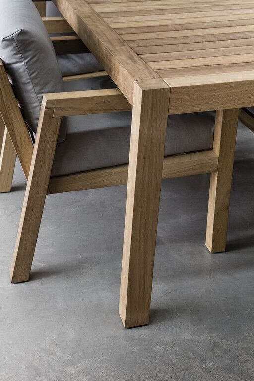 Piet Boon Studio modern wood table and chair bespoke design