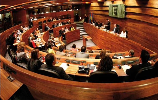 Pleno Junta General Principado de Asturias