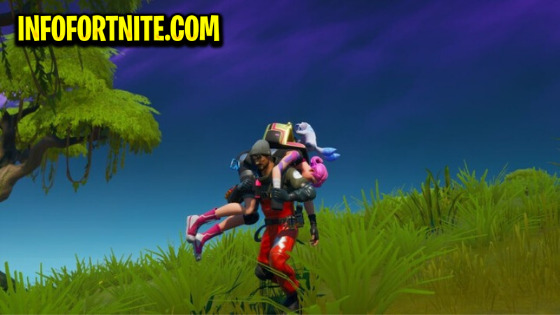 Fortnite: Dragging a K.O. Player 10m, Challenge, Mission A New World