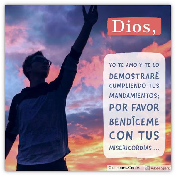 Oración del Domingo - Para Recibir las Misericordias de Dios