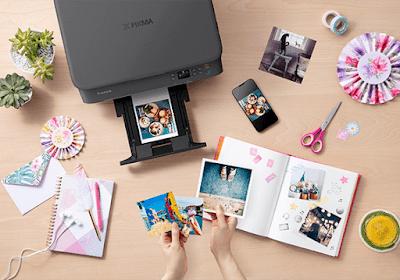 creative printing dengan Canon PIXMA (sumber: asia.canon)