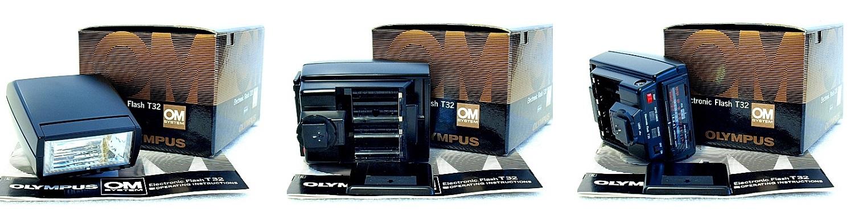 Olympus OM T32 Flash Unit #001