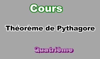 Cours Sur Théorème de Pythagore 4eme en PDF
