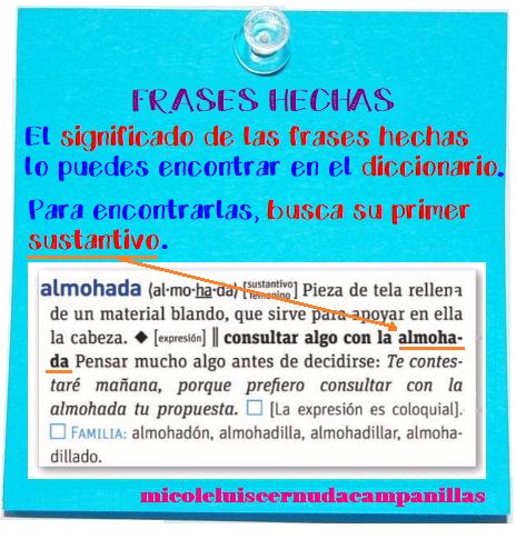 Me Mola Cuarto Frases Hechas Y Abreviaturas En El Diccionario
