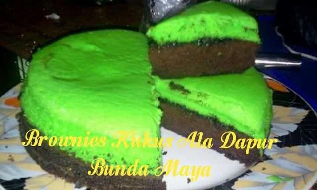 Brownies Kukus Ala Dapur Bunda Maya