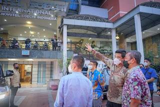 Eks Hotel Soechi International Mulai Dioperasikan Jadi Tempat Isolasi Terpadu Penanganan Covid-19
