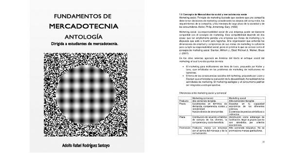 Resumen del libro Fundamentos de Mercadotecnia – Rafael Rodríguez Santoyo