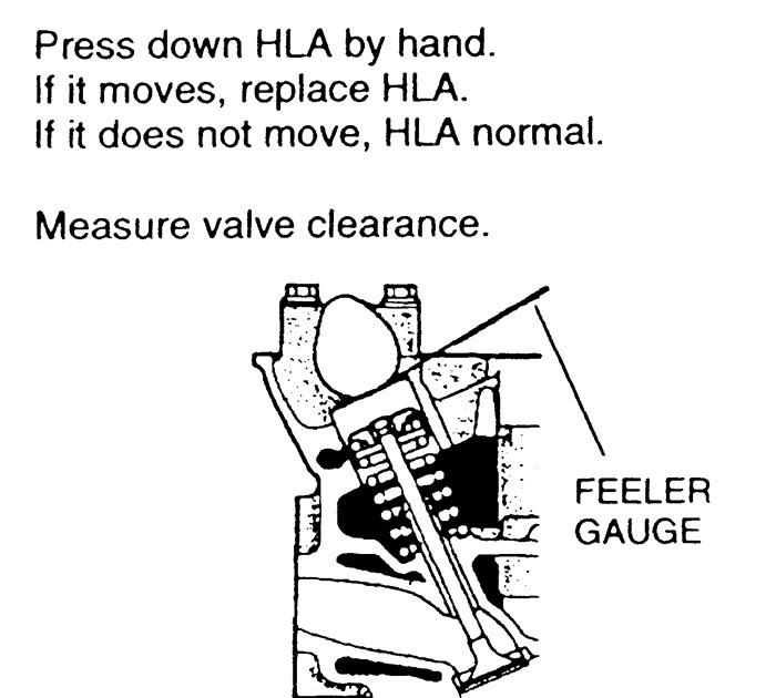 mazda's garage: valve clearance