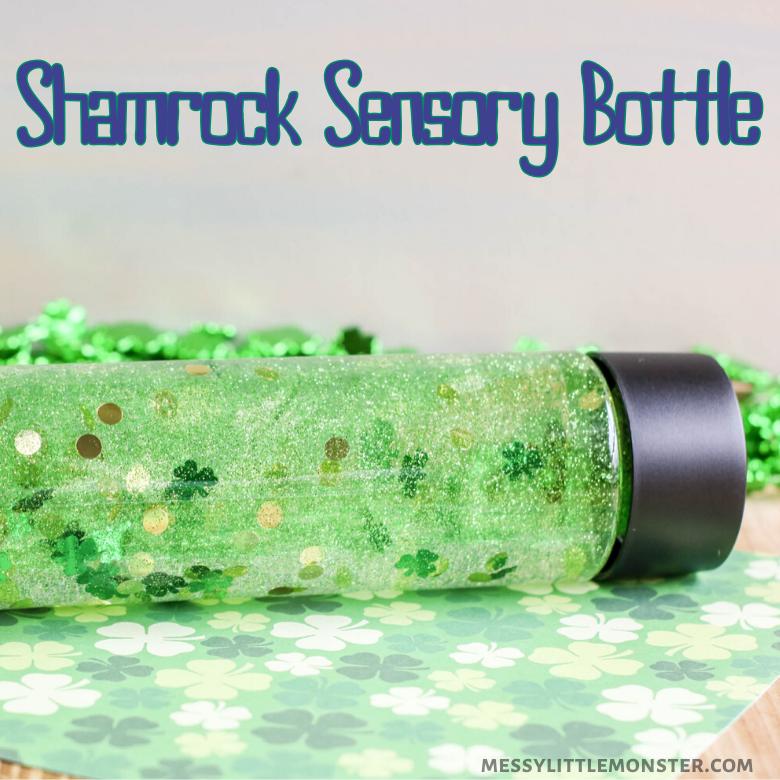 St Patricks Day sensory bottle