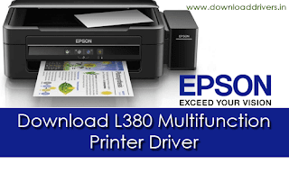Epson L380 driver, Scanner, Multi-function printer driver, L380 all in one printer