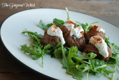 Greek Meatballs - healthy and kid friendly weeknight meal