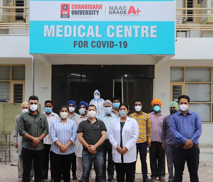Chandigarh University Covid-Care facility comes to the rescue of corona patients during second wave
