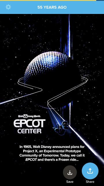 Timehop Epcot