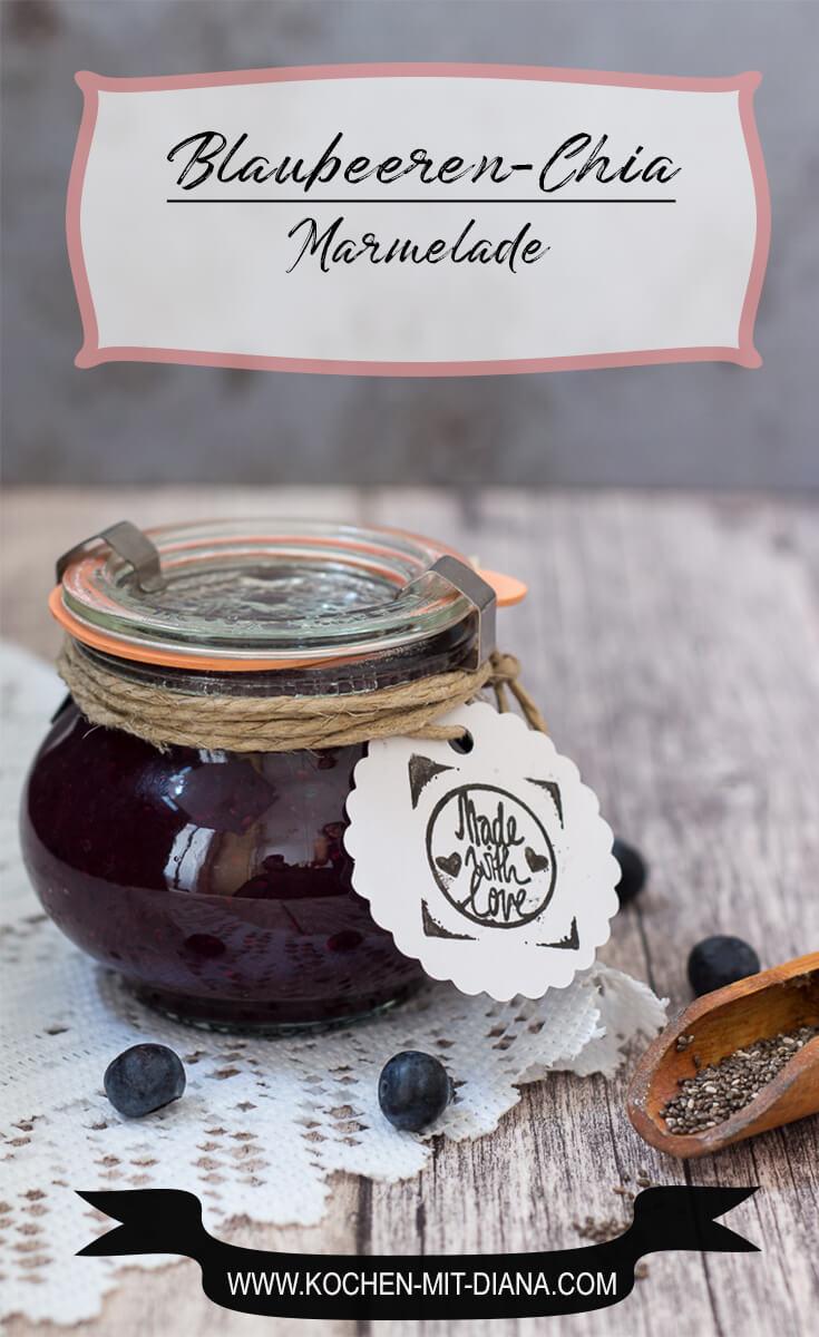 Blaubeeren-Chia Marmelade