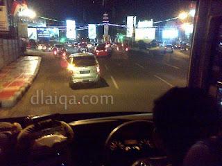 melewati Tugu Adipura, Bandar Lampung