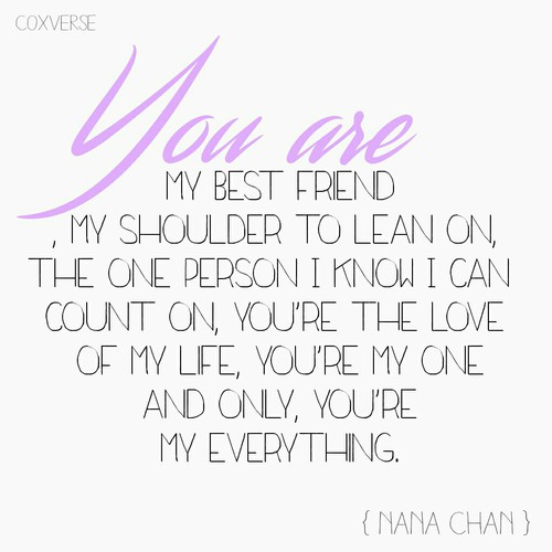 Romantic Love Quotes For You Youre The Love Of My Life Youre My