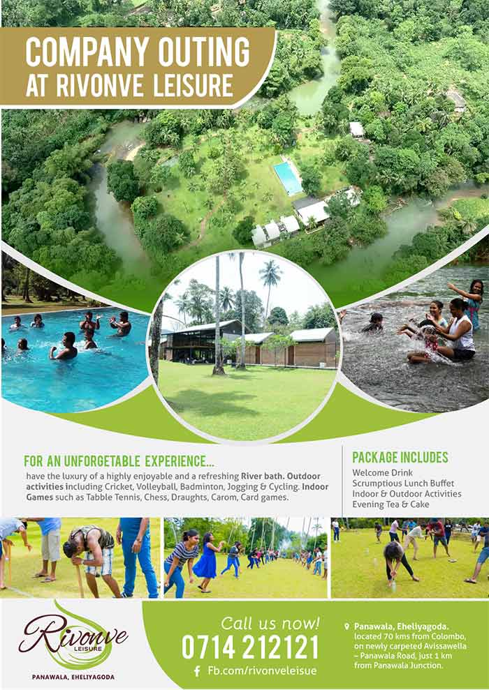 Dayouting Packages at Rivonve Leisure Resort