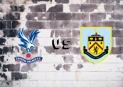 Crystal Palace vs Burnley  Resumen