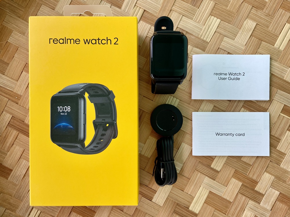realme Watch 2 What's Inside the Box