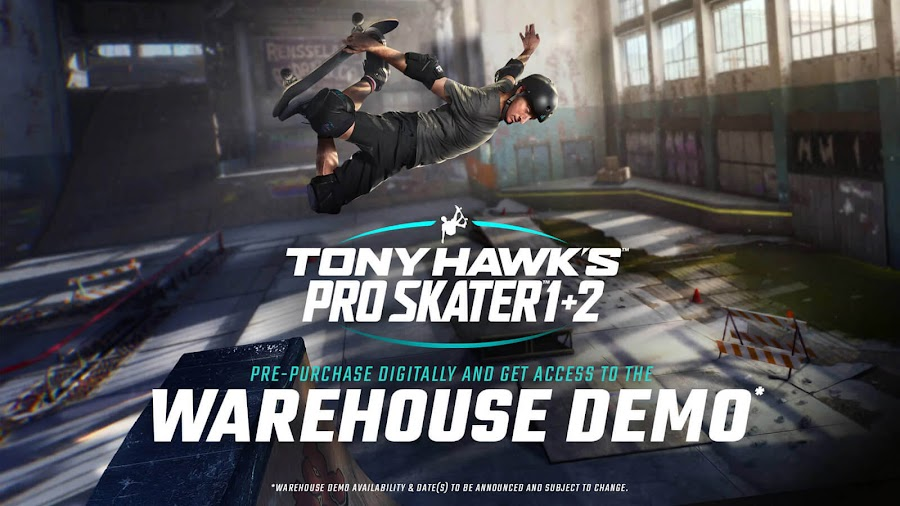tony hawk's pro skater warehouse demo  remaster announced acclaimed skateboarding video game pc ps4 pro xb1 xb1x activision vicarious visions