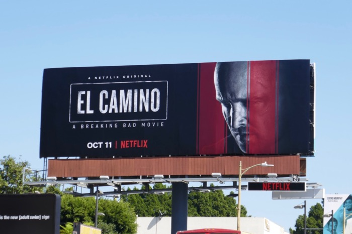 El Camino Breaking Bad billboard