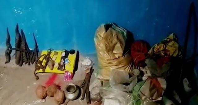 नवरात्र में पत्नी की हत्या..झाड़फूंक और तंत्रमंत्र की आशंका
