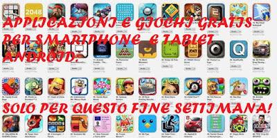 Applicazioni giochi gratis smartphone Android