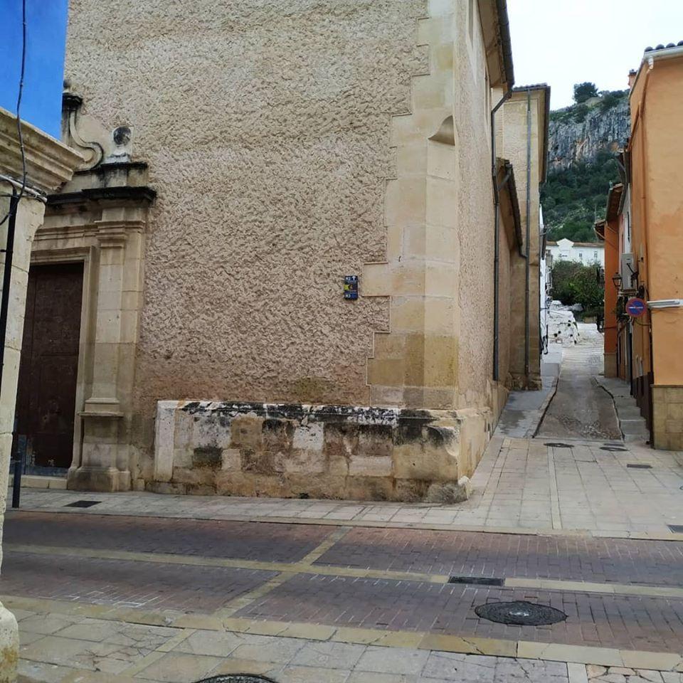 Centro histórico de Xátiva y referencias al barrio judío. #JuderíaDeXátiva