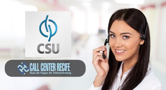 OPERADOR DE TELEMARKETING - CSU