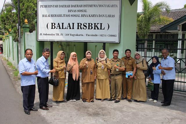 Kunjungan Kerja Dinas Sosial Pemerintah Propinsi Kalimantan Selatan