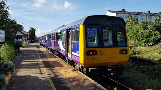 Pacer Railbus 142005 at St Annes-on-the-Sea railway station last August. It's the first Northern Pacer to be retired from service