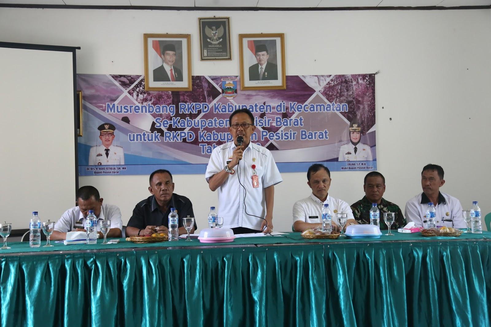 Musrenbang Tingkat Kecamat Kabupaten Pesisir Barat Editor Lambar Kopi Robusta By Yoen Iskan Akumandiri