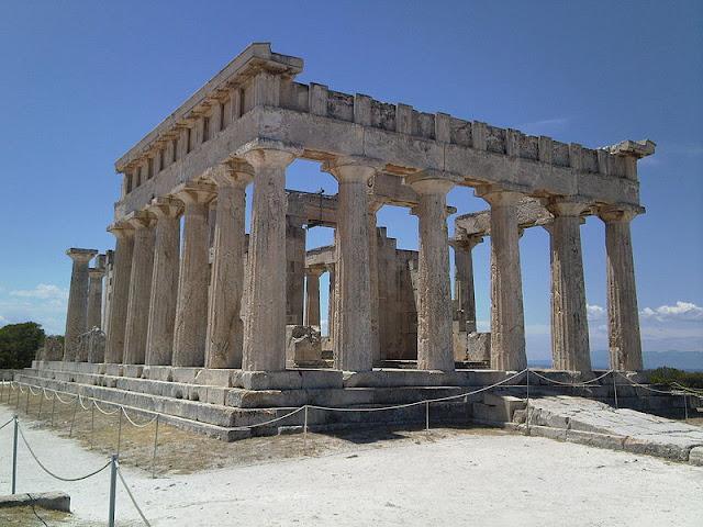 Il tempio di Aphaia a Egina