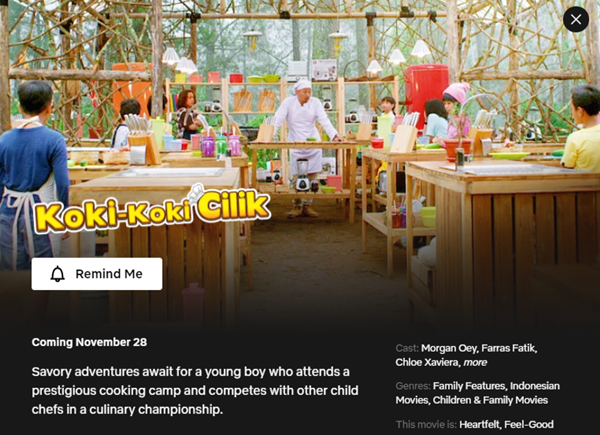 Koki Koki Cilik - 28 November 2020