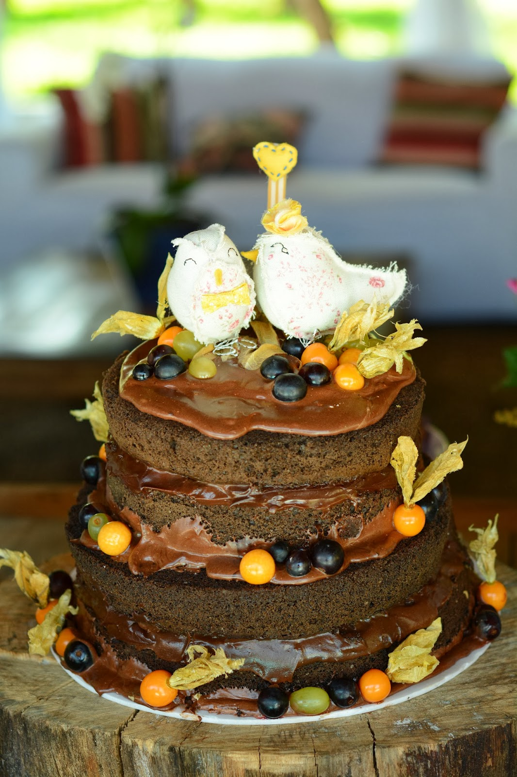 bolo-naked-cake-casamento-dia-azul-amarelo