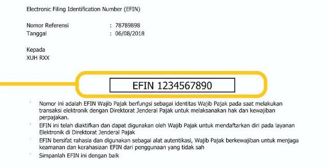 Lupa EFIN 2019 : Solusi Lengkap Lupa EFIN Pajak