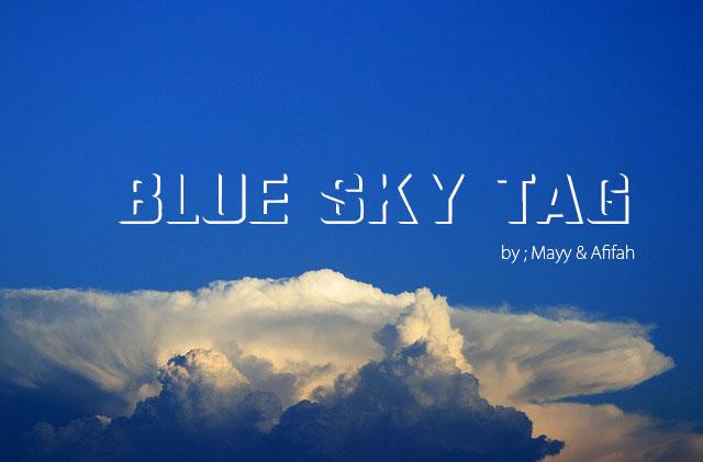 THE BLUE SKY TAG - I'M SIMPLY ME