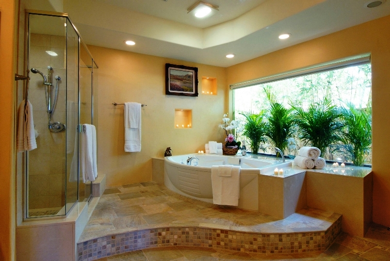 Designing A Bathroom With Natural Nuances In Easy 3 Simple