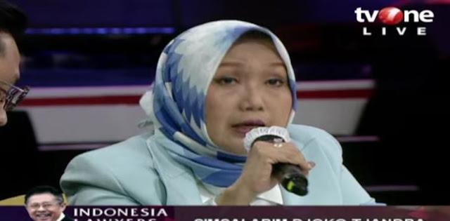 Anita Kolopaking Mangkir Dalam Pemeriksaan Perdana Sebagai Tersangka