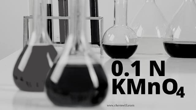 0.1 N Potassium permanganate (KMnO 4) solution