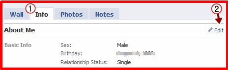 how do i change my relationship status on facebook