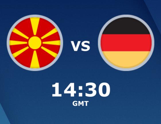 بث مباشر مباراة المانيا ومقدونيا