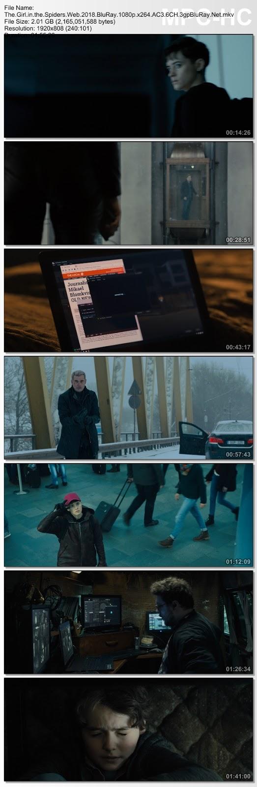 Screenshots Download Девушка, которая застряла в паутине (2018)